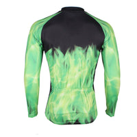 ILPALADINO Green-feather Horse Men's Professional MTB Cycling Jersey Breathable and Quick Dry Comfortable Bike Shirt for Spring Autumn NO.292 -  Cycling Apparel, Cycling Accessories | BestForCycling.com