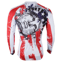 Ilpaladino American Style Statue of Liberty  Men's Long/Short-sleeve Cycling Bike jersey T-shirt Summer Spring Autumn Road Bike Wear Mountain Bike MTB Clothes Sports Apparel Top NO.293 -  Cycling Apparel, Cycling Accessories | BestForCycling.com