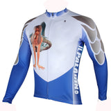 ILPALADINO Mermaid Unisex Mernaid Long Sleeves Cycling Clothing Suits with Tights  Winter Exercise Bicycling Pro Cycle Clothing Racing Apparel Outdoor Sports Leisure Biking Shirts (Velvet) NO.294 -  Cycling Apparel, Cycling Accessories | BestForCycling.com