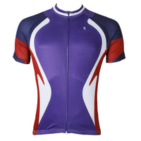Ilpaladino Funnel Purple Cycling Short-sleeve Jersey Exercise Bicycling Pro Cycle Clothing Racing Apparel Outdoor Sports Leisure Biking Shirts Team NO.523 -  Cycling Apparel, Cycling Accessories | BestForCycling.com
