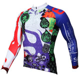 Men's Hidden-Zipper Long-sleeve Cycling Jersey with Patterns for Outdoor Bike Sport and Leisure Sport Fall/Autumn Breathable Quick Dry Bicycle clothing 369 -  Cycling Apparel, Cycling Accessories | BestForCycling.com