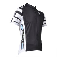 Wolf Soldier Man's Short-sleeve Cycling Jersey T-shirt Summer Black NO.007 -  Cycling Apparel, Cycling Accessories | BestForCycling.com
