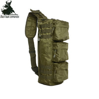BL016  Single Shoulder Bag Small Army Military Fans Equipment Airborne Landing Bag  Stylish Multifunctional Satchel Charge Bag Outdoor Sports Daypack for Traveling Hiking Climbing Cycling Mountaineering Camping -  Cycling Apparel, Cycling Accessories | BestForCycling.com