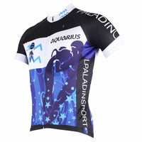 Ilpaladino Aquarius Vitativeness Series 12 Horoscopes Man's Short-sleeve Cycling Jersey Team Pro Cycle Jacket T-shirt Summer Spring Clothes Leisure Sportswear Apparel Signs of the Zodiac NO.268 -  Cycling Apparel, Cycling Accessories | BestForCycling.com