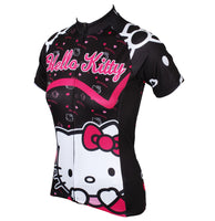 HELLO KITTY Princess Women's Top Cycling Jersey T-shirt Summer Black Kit NO.538 -  Cycling Apparel, Cycling Accessories | BestForCycling.com