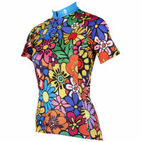 Ilpaladino Anthemy Pattern  Women's Quick Dry Short-Sleeve Cycling Jersey Breathable  Spring Summer Exercise Wear Bicycling Pro Cycle Clothing Racing Apparel Outdoor Sports Leisure Biking Shirts NO.114 -  Cycling Apparel, Cycling Accessories | BestForCycling.com