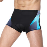 ILPALADINO Blue Arrow Mens 3D Padded Cycling Underwear Shorts Bicycle Underpants Lightweight Bike Biking Shorts Breathable Bicycle Pants Lightweight Riding Underwear Shorts NO.CK91 -  Cycling Apparel, Cycling Accessories | BestForCycling.com
