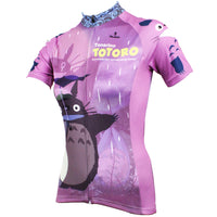My Neighbor Totoro Purple Cycling Jersey Women's Short-Sleeve T-shirt Chinchilla NO.519 -  Cycling Apparel, Cycling Accessories | BestForCycling.com