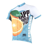 Happy Cycling Summer Fruit Orange Men's Short-Sleeve Cycling Jersey Suit Biking Wear Breathable Outdoor Sports Gear Leisure Biking T-shirt Sports Clothes NO.176 -  Cycling Apparel, Cycling Accessories | BestForCycling.com