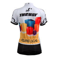 Ilpaladino Cube Women's Summer Short-Sleeve Cycling Jersey Biking Shirts Breathable Sports Clothes Bicycling Summer Spring Autumn Pro Cycle Clothing Racing Apparel Outdoor Sports Leisure Biking Shirts  NO.606 -  Cycling Apparel, Cycling Accessories | BestForCycling.com