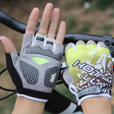 Bicycle Gloves Half Finger Gel Padded Breathable Sports Bicycle Gloves -  Cycling Apparel, Cycling Accessories | BestForCycling.com