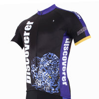 [Discoverer series ] llpaladino Leopard Panther Skulking Deer Nature Prey Hunter Short-sleeve Cycling Suit/Jersey Jacket T-shirt -- Summer Spring Clothes Sportswear Pro Cycle Clothing Racing Apparel Outdoor Sports Leisure Biking T-shirt NO.306 -  Cycling Apparel, Cycling Accessories | BestForCycling.com
