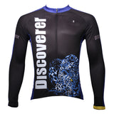 [Discoverer series ] Leopard Panther Skulking Deer Nature Prey Hunter Short-sleeve Cycling Suit/Jersey T-shirt NO.306 -  Cycling Apparel, Cycling Accessories | BestForCycling.com