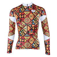 Ilpaladino Checked Women's Long-Sleeve Cycling Jersey/Suit Biking Shirts Breathable Apparel Outdoor Sports Gear Clothes NO.315 -  Cycling Apparel, Cycling Accessories | BestForCycling.com