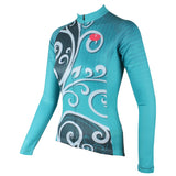 ILPALADINO Green Cycling Jersey Bike Bicycling Spring Autumn Pro Cycle Clothing Racing Apparel Outdoor Sports Leisure Biking Shirts Breathable and Comfortable NO.326