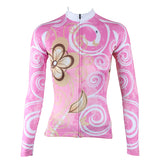 Ilpaladino Pure Pink Women's Long-Sleeve Cycling Jersey/Suit   Spring Autumn Exercise Bicycling Pro Cycle Clothing Racing Apparel Outdoor Sports Leisure Biking Shirts Breathable Sports Clothes NO.327 -  Cycling Apparel, Cycling Accessories | BestForCycling.com