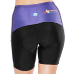 Fish Ocean Blue Womans Cycling Spinning Padded Bike Shorts UPF 50+ Spandex Clothing and Riding Gear Summer Pant Road Bike Wear Mountain Bike MTB Clothes Sports Apparel Quick dry Breathable NO. 796 -  Cycling Apparel, Cycling Accessories | BestForCycling.com
