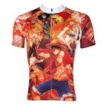 ONE PIECE Members Pirates Strong World Men's Cycling Jersey Team Leisure Jacket T-shirt Summer Spring Autumn Clothes Sportswear Anime Luffy/Nami/Brook/Chopper/Zoro/Sanji/Franky NO.358 -  Cycling Apparel, Cycling Accessories | BestForCycling.com