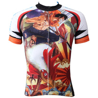 ONE PIECE Members Rooster Pirates Strong World Men's Cycling Jersey Team Leisure Jacket T-shirt Summer Spring Autumn Clothes Sportswear Anime Luffy/Nami/Brook/Chopper/Zoro/Sanji/Franky NO.359 -  Cycling Apparel, Cycling Accessories | BestForCycling.com
