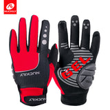 Full Finger Bike Gloves Screen Touchable Anti Slip Damping Windproof Waterproof Keep Warm Anti Slip Fashion Design for Cycling Outdoors Sports Exercise Accessories for Men/Women NO.N2028 -  Cycling Apparel, Cycling Accessories | BestForCycling.com