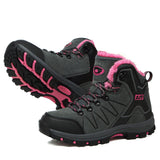 Couple Winter Hiking High Shoes Thermal Cotton Outdoor Adventure Mountaineerin Cross-country Waterproof Anti-skidding For Women Men NO.8012 -  Cycling Apparel, Cycling Accessories | BestForCycling.com
