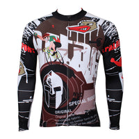 Hot Sale Cycling Clothing Dazzling Cycling Jersey Bike Clothing Cycling Pattern Men's Long-sleeved Jersey for Summer Breathable Fabric(velvet) -  Cycling Apparel, Cycling Accessories | BestForCycling.com