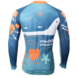 ILPALADINO Heartbeat Men's Professional MTB Cycling Jersey Breathable and Quick Dry Comfortable Bike Shirt for Spring Autumn NO.387 -  Cycling Apparel, Cycling Accessories | BestForCycling.com
