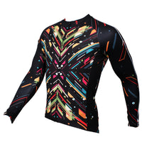 Ilpaladino Spark Black Men's Long-sleeve Breathable Jersey/Suit Professional Bicycling Cycle Clothing Racing Apparel Outdoor Sports Leisure Biking T-shirt  Sportswear NO.389 -  Cycling Apparel, Cycling Accessories | BestForCycling.com