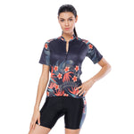 Elegance Tropical Plant Flower Women's Cycling Short-sleeve/Long-sleeve Bike Jersey/Kit T-shirt Summer Spring Road Bike Wear Mountain Bike MTB Clothes Sports Apparel Top / Suit NO. 791 -  Cycling Apparel, Cycling Accessories | BestForCycling.com