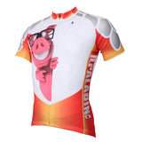 Ilpaladino Animal Pink Pig Men's Long/Short-sleeve Cycling Bike jersey T-shirt Summer Spring Autumn Road Bike Wear Mountain Bike MTB Clothes Sports Apparel Top NO.399 -  Cycling Apparel, Cycling Accessories | BestForCycling.com