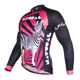 ILPALADINO Yellow/Blue/Green/Red/Rose red Zebra Professional MTB Cycling Jersey Long Sleeve Spring Autumn Mountain Bike Exercise Bicycling Pro Cycle Clothing Racing Apparel Outdoor Sports Leisure Biking Shirts -  Cycling Apparel, Cycling Accessories | BestForCycling.com