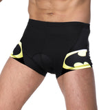 ILPALADINO Batman Superhero Mens 3D Padded Cycling Underwear Shorts Bicycle Underpants Lightweight Bike Biking Shorts Breathable Bicycle Pants Lightweight NO.CK918 -  Cycling Apparel, Cycling Accessories | BestForCycling.com
