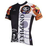 ONE PIECE Series Pirates Skeletal Musician Brook Men's Cycling Suit Jersey Team Jacket T-shirt Summer Spring Autumn Clothes Sportswear Anime Animation Manga Paramecia-type Revive Devil Fruit Eater NO.402 -  Cycling Apparel, Cycling Accessories | BestForCycling.com