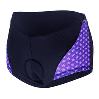 Small Flowers Purple 3D Padded Cycling Underwear Shorts Bicycle Underpants Lightweight Bike Biking Shorts Breathable Bicycle Pants Lightweight NO. SFK013 -  Cycling Apparel, Cycling Accessories | BestForCycling.com
