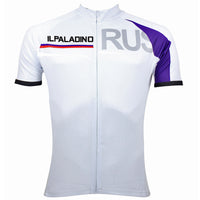 ILPALADINO Russia Simple White Man's Short-sleeve Cycling Jersey Team Jacket T-shirt Summer Spring Autumn Clothes Sportswear Racing Apparel NO.058 -  Cycling Apparel, Cycling Accessories | BestForCycling.com