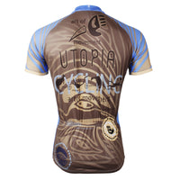 Ilpaladino Utopia Blue Lizard  Men's Breathable Short-Sleeve Cycling Jersey Bicycling Shirts Summer Quick Dry Sportswear Apparel Outdoor Sports Gear Leisure Biking T-shirt NO.526 -  Cycling Apparel, Cycling Accessories | BestForCycling.com