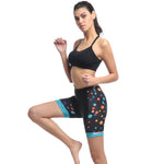 Women's Cycling Shorts Padded Bike Pants Bike Capris Bicycle Tights - 714