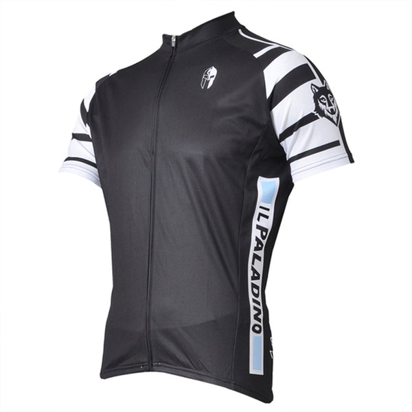 ILPALADINO Wolf Soldier Man's Short-sleeve Cycling Jersey Team Jacket T-shirt Summer Spring Autumn Clothes Sportswear Apparel Outdoor Sports Gear Leisure Biking T-shirt Black NO.007 -  Cycling Apparel, Cycling Accessories | BestForCycling.com