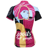 ILPALADINO Fasion Girl Cycling Jersey Bike Bicycling Summer  Pro Cycle Clothing Racing Apparel Outdoor Sports Leisure Biking Shirts Breathable and Comfortable NO.533 -  Cycling Apparel, Cycling Accessories | BestForCycling.com
