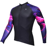 ILPALADINO Purple Pink Cool Graphic Arm Men's Cycling Long-sleeve Black Jerseys - Spring Summer Exercise Bicycling Pro Cycle Clothing Racing Apparel Outdoor Sports Leisure Biking Shirts Team Kit Personalized Styles NO.365 -  Cycling Apparel, Cycling Accessories | BestForCycling.com