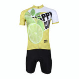 Happy Cycling Summer Fruit Lemon Men's Short-Sleeve Cycling Jersey Suit NO.177 -  Cycling Apparel, Cycling Accessories | BestForCycling.com