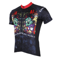 Ilpaladino Horror Mickey Mouse Men's Breathable Quick Dry Short-Sleeve Cycling Jersey Bicycling Shirts Summer Sport  Upper Wear NO.528 -  Cycling Apparel, Cycling Accessories | BestForCycling.com