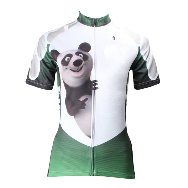 ILPALADINO Animal Panda Cycling Jersey for Girls Bike Bicycling Summer Pro Cycle Clothing Racing Apparel Outdoor Sports Leisure Biking Shirts Breathable and Comfortable NO.159 -  Cycling Apparel, Cycling Accessories | BestForCycling.com