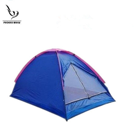 2-person Couple Friends One-layer Waterproof Outdoor Wild Camping Dome Backpacking Tent Camp Tents Shelters -  Cycling Apparel, Cycling Accessories | BestForCycling.com