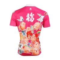 ILPALADINO Pink Pig Men's Professional MTB Cycling Jersey Breathable and Quick Dry Comfortable Bike Shirt for Summer NO.609 -  Cycling Apparel, Cycling Accessories | BestForCycling.com