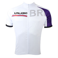 Ilpaladino UK Britain Simple White Men's Breathable Quick Dry Short-Sleeve Cycling Jersey Bicycling Shirts Summer Apparel Outdoor Sports Gear Leisure Biking T-shirt Upper Wear NO.051 -  Cycling Apparel, Cycling Accessories | BestForCycling.com