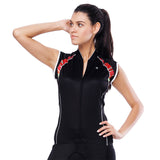 Black Cool Women's Cycling Sleeveless Bike Jersey T-shirt Summer Spring Road Bike Wear Mountain Bike MTB Clothes Sports Apparel Top NO. 790 -  Cycling Apparel, Cycling Accessories | BestForCycling.com