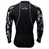 Chinese Poetry Handwriting Men's Cycling Long-sleeve Black Jerseys NO.400 -  Cycling Apparel, Cycling Accessories | BestForCycling.com