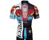 ONE PIECE Series Pirates Cola-powered Cyborg Franky Straw Hat Pirates Men's Cycling Jersey Team Leisure Jacket T-shirt Summer Spring Autumn Clothes Sportswear Anime Animation Manga NO.404 -  Cycling Apparel, Cycling Accessories | BestForCycling.com