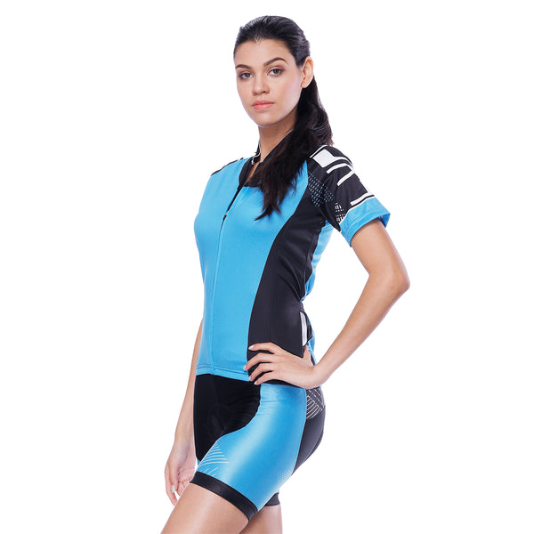 Blue Simple Women's Cycling Short-sleeve Bike Jersey/Kit T-shirt Summer Spring Road Bike Wear Mountain Bike MTB Clothes Sports Apparel Top / Suit NO. 798 -  Cycling Apparel, Cycling Accessories | BestForCycling.com